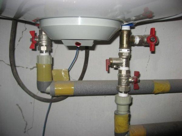 Замена водонагревателя