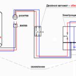 Схема подключения водонагревателя к электросети
