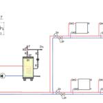 Схема подключения водонагревателя с двумя насосами